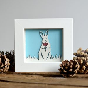 Miniature Bunny Rabbit Print